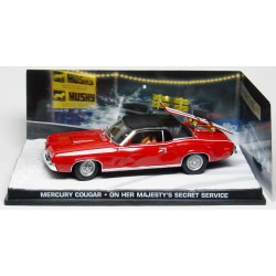 Mercury Cougar 007 - On Her Majesty's Secret Service - au 1/43 en boite