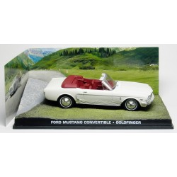 Ford Mustang Convertible - Goldfinger - au 1/43 en boite