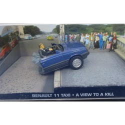 Renault 11 Taxi 007 - A View To a Kill - au 1/43 en boite