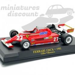 Ferrari F1 126 CK - Gilles...