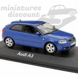 Audi A3 (Bleu) - Minichamps...