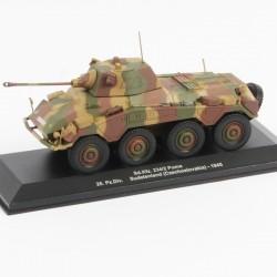 Sd Kfz 234/2 Puma 20 Pz Div Sudetenland Tchécoslovaquie - 1/43eme