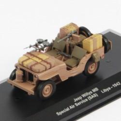 Jeep Willys MB Spécial Air Service SAS Libya 1942 - 1/43eme