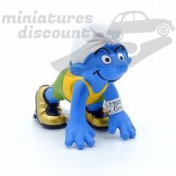 Figurine Schtroumpf Coureur...