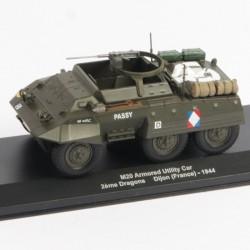 M20 Armored Utiliy Car 2ème Dragons Dijon France 1944 - 1/43eme