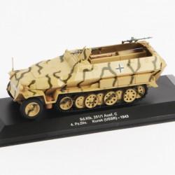 Hanomag Sd Kfz 251/1 Ausf.C 4 Pz Div Kursk USSR 1943 - 1/43ème