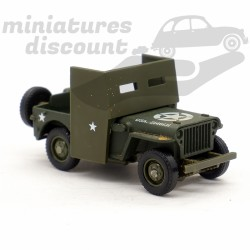 Jeep Willys Blindé avant -...