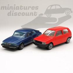 Lot de 2 Miniatures, Saab...