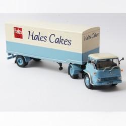 Semi Remorque, Bedford TK 1960 à 1969 Hales Cakes - 1/43ème