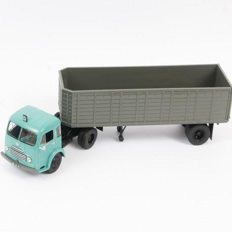Semi Remorque, Ford Cargo Remorqueur 1951 à 1954 Camion Benne - 1/43ème