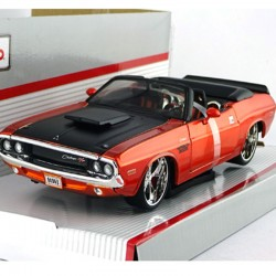 Dodge Challenger Convertible, Cabriolet Maisto 1/24 - en boite