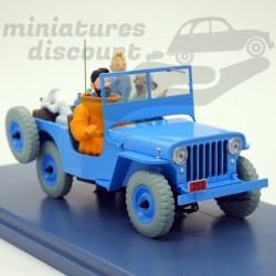 Jeep Willys Tintin -...