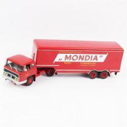 """Semi Remorque, Bernard TDA 160/35 1960 à 1964 """"MONDIA"""" - 1/43ème"""