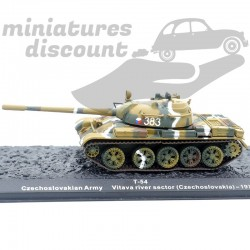 Tank T-54 - Tchécoslovaquie...