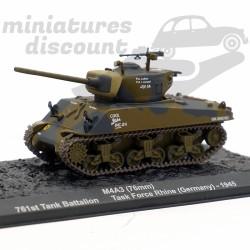Tank M4A3 - Allemagne 1945...