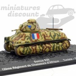 Tank Somua S35 - Tunisie...