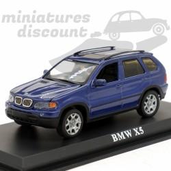 BMW X5 - 1/43ème sur socle
