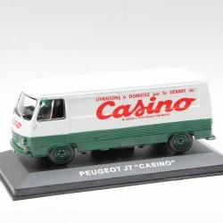 "Peugeot J7 ""Casino"" - au 1/43 en boite"