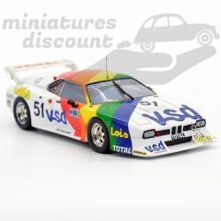 """BMW M1 """"Total"""" - 1/43ème..."""