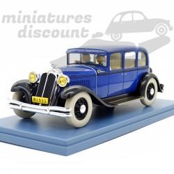 Le Lotus bleu - La voiture...