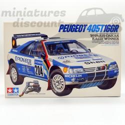 Maquette Peugeot 405 T16GR...