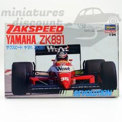 Maquette Zakspeed Yamaha...
