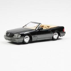 Mercedes 500 SL - Noir - Solido - 1/43 - sous blister