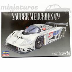 Maquette Mercedes Sauber C9...
