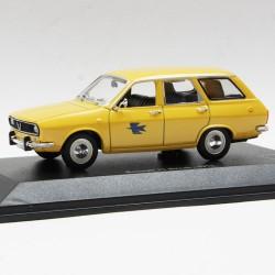 Renault 12 Break de 1971 - La Poste - au 1/43 en boite