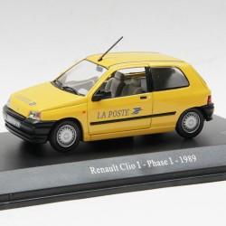 Renault Clio I Phase I de 1989 - La Poste - au 1/43 en boite