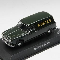 Peugeot 403 Break 1962 - La Poste - au 1/43 en boite
