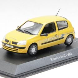 Renault Clio II Phase 2 de 2001 - La Poste - au 1/43 en boite