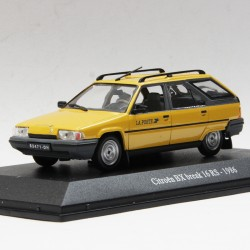 Citroen BX Break 16 RS de 1986 - La Poste - au 1/43 en boite