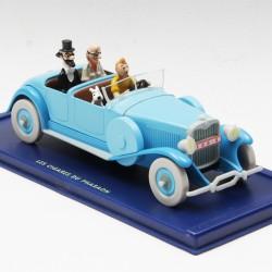 Tintin - La lincoln Torpedo des Cigares du Pharaon - au 1/43 en boite