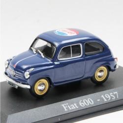 Pepsi Cola - Fiat 600 - 1/43eme En boite