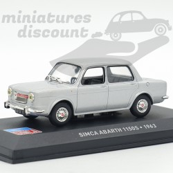 Simca Abarth 1150S - 1963 -...