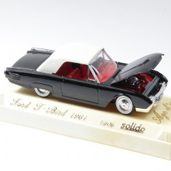Ford Thunderbird - Solido, Age d'Or Made in France - 1/43ème en boite