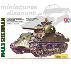 Tank M4A3 Sherman - Tamiya...