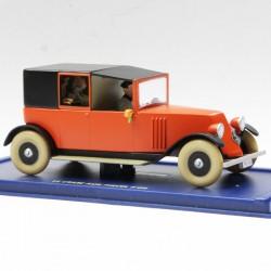 Tintin - Le Taxi Rouge du Crabe aux pinces d'or - au 1/43 en boite