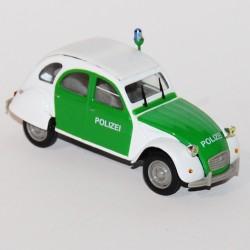 """Citroen 2cv """"Polizei"""" Norev - 1/43"""