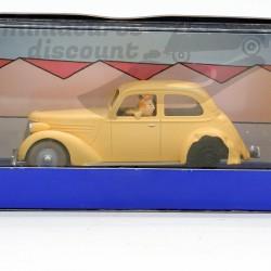 Tintin La Voiture Accidenté...