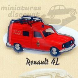 Pin's Renault 4L Sapeurs...