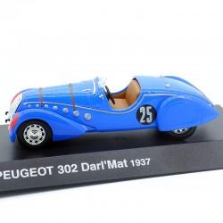 Peugeot 302 Darl'Mat 1937 - au 1/43 en boite
