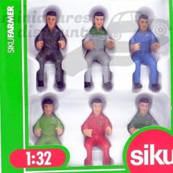 Conducteur Fermier - Siku -...