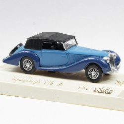 Delahaye 135M Bleu - Solido, Age d'Or Made in France - 1/43ème en boite