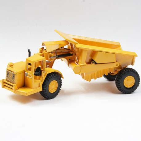 Tracteur Caterpillar CAT-631avec benne  - 1/70ème - Joal - en boite