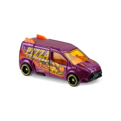 Hot Wheels - Ford Transit Connect Pizza - 1/64eme  (Sous blister)