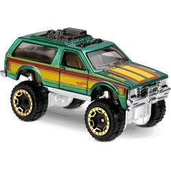 Hot Wheels - Chevy Blazer 4x4 - 1/64eme  (Sous blister)