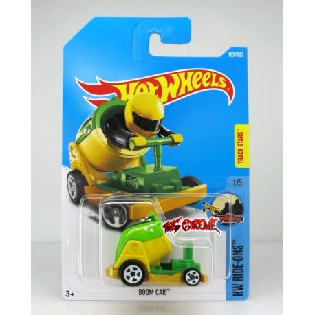 Hot Wheels - Boom Car - 1/64eme  (Sous blister)