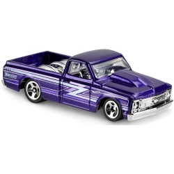 Hot Wheels - Chevrolet Chevy 1967 C10 - 1/64eme  (Sous blister)